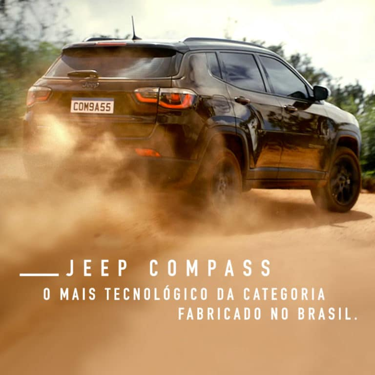 banner Jeep Compass tecnológico